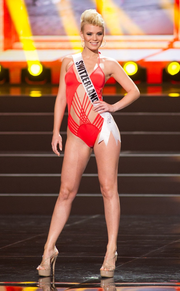 Miss Switzerland, Miss Universe, Bikini