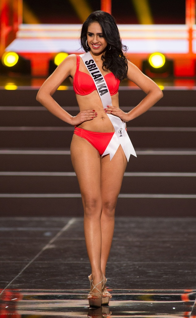 Miss Sri Lanka, Miss Universe, Bikini