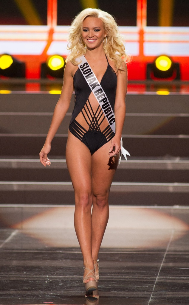 Miss Slovak Republic, Miss Universe, Bikini