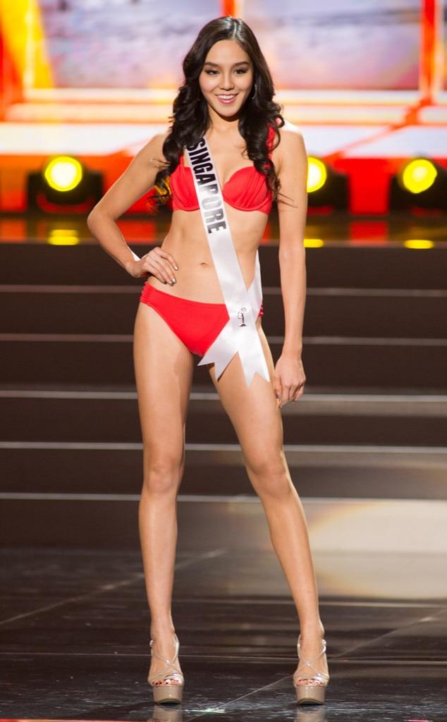 Miss Singapore, Miss Universe, Bikini