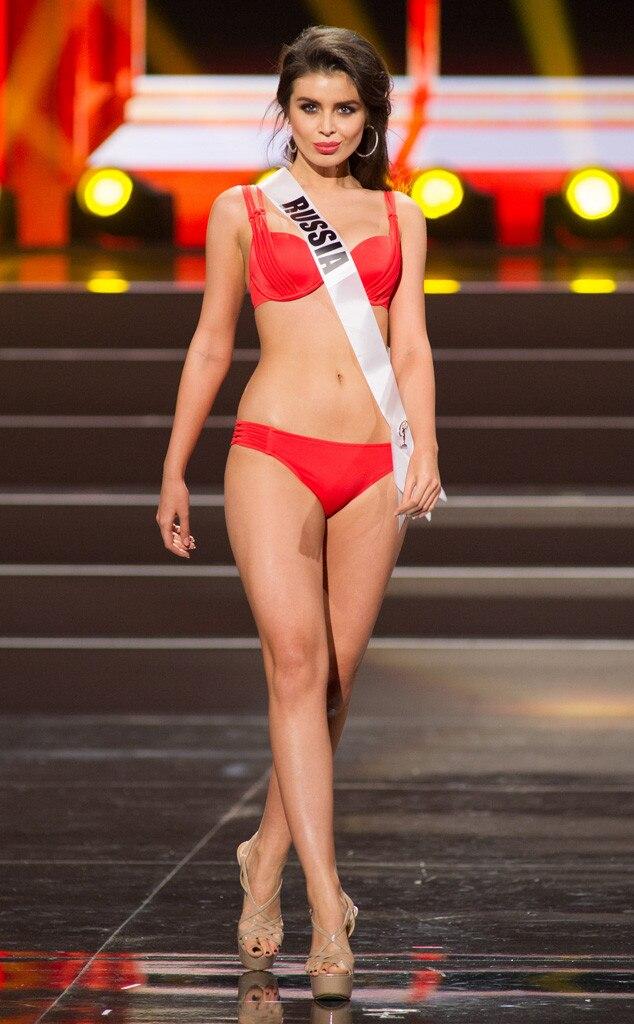 Miss Russia, Miss Universe, Bikini