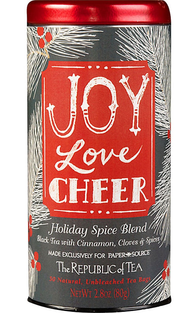 Hostess Gift Guide, Republic of Tea Joy Love Cheer Tea