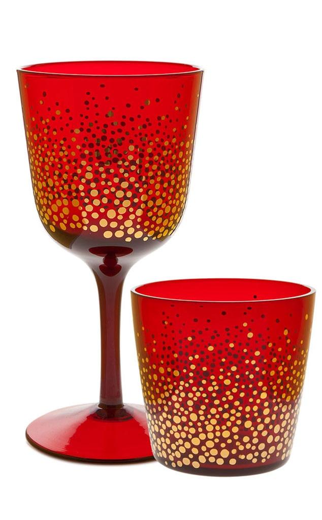 Hostess Gift Guide, Zara Home Christmas Tumbler & Wine Glass
