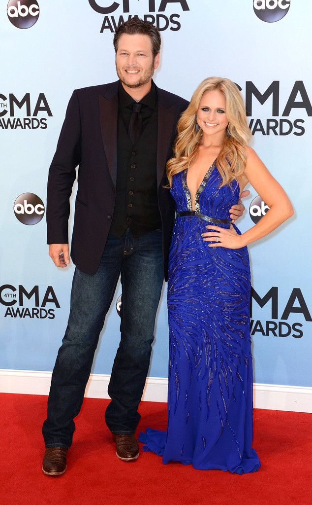 Blake Shelton, Miranda Lambert, CMA Awards