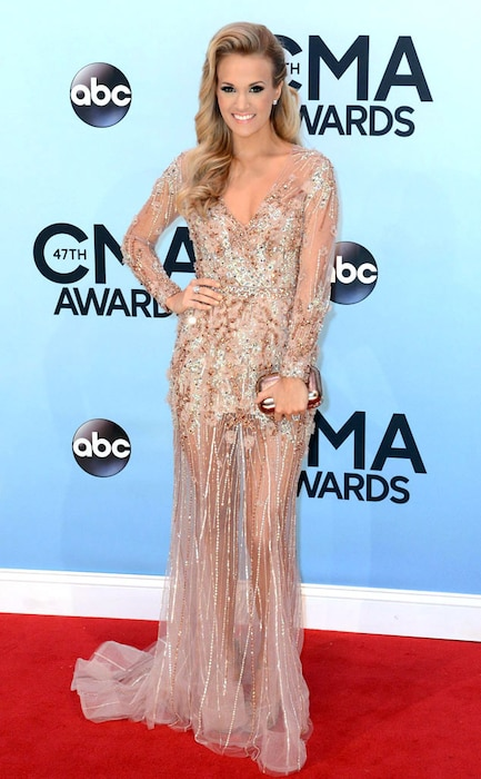 Carrie Underwood, CMA Style, 2013