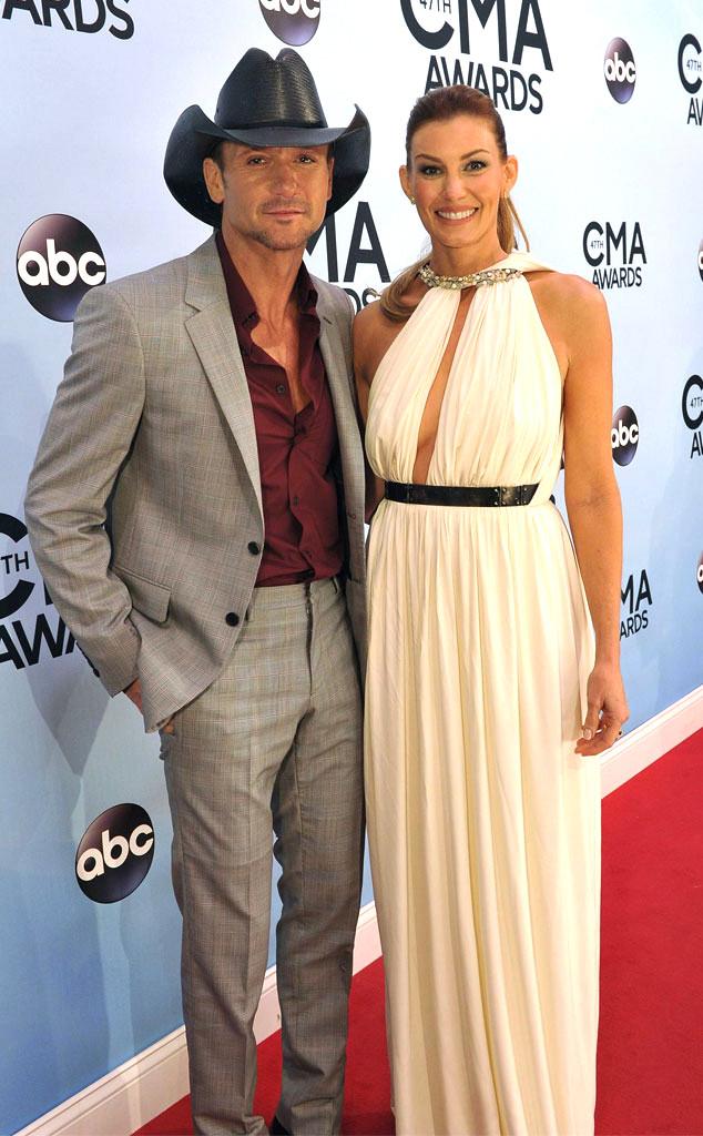 Faith Hill, Tim McGraw, CMA Awards