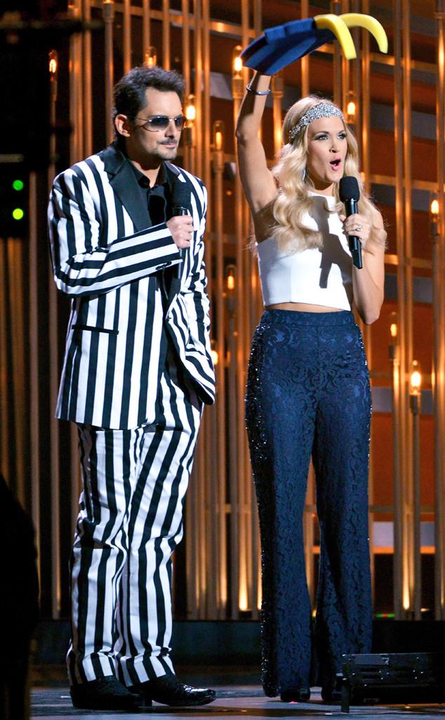 Carrie Underwood, Brad Paisley, CMA