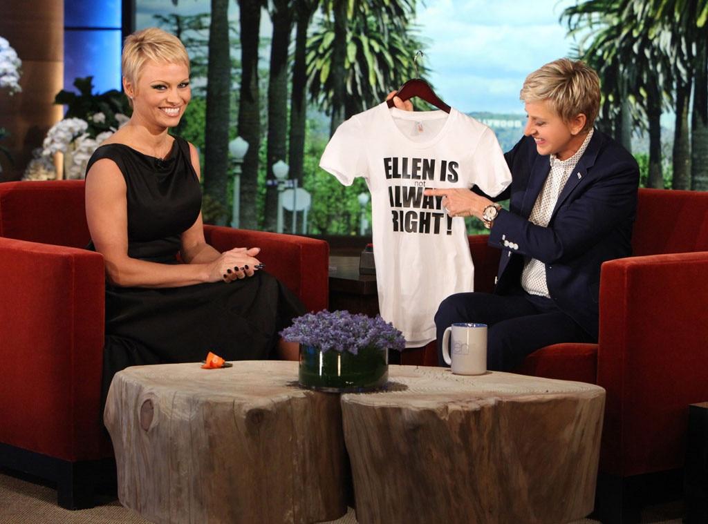 Ellen, Pamela Anderson
