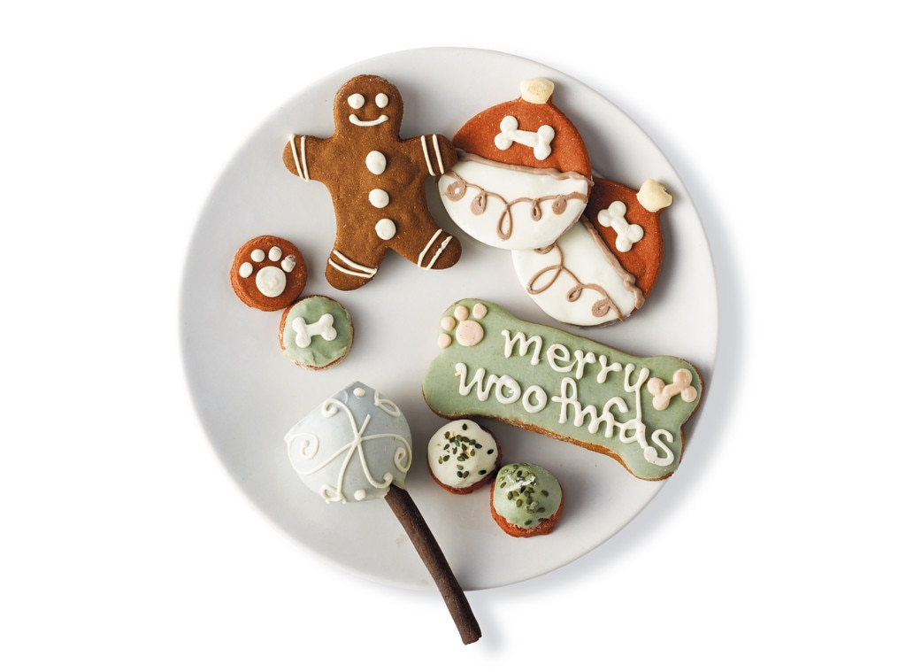 Merry Woofmas Assorted Dog Treats, Holiday Pet Gift Guide