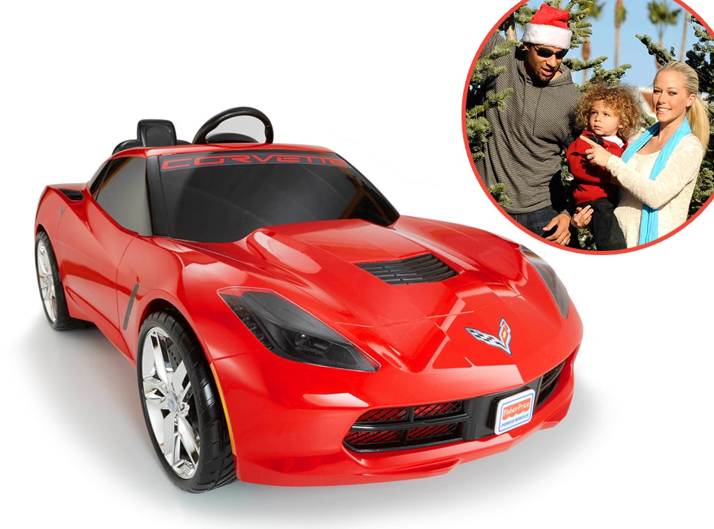 Power Wheels Corvette, Hank Baskett Jr, Star-Wothy Kids Gifts