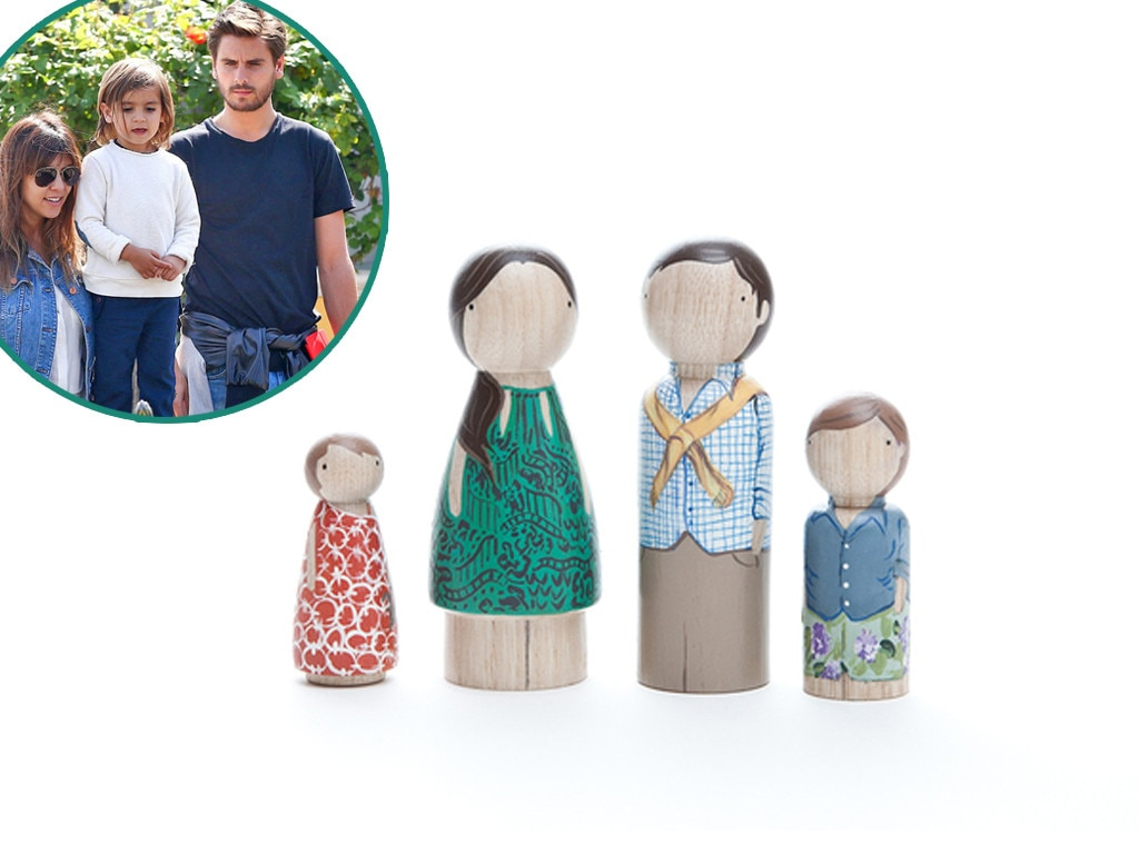 Oliver & Adelaide Functional Family Portrait, Mason Disick, Star-Wothy Kids Gifts