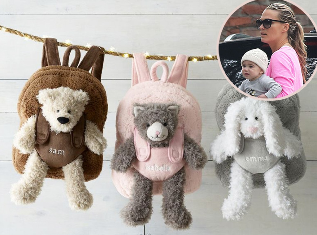 Brooks Sims, Restoration Hardware Cuddle Plush Backpacks, Star-Wothy Kids Gifts