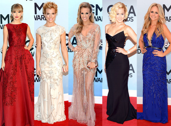 Taylor Swift, Miranda Lambert, Kellie Pickler, Carrie Underwood, Kimberly Perry, CMA Awards