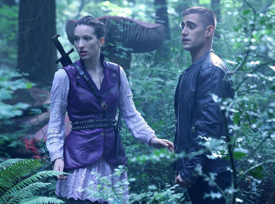 Sophie Lowe, Michael Socha, Once Upon a Time in Wonderland