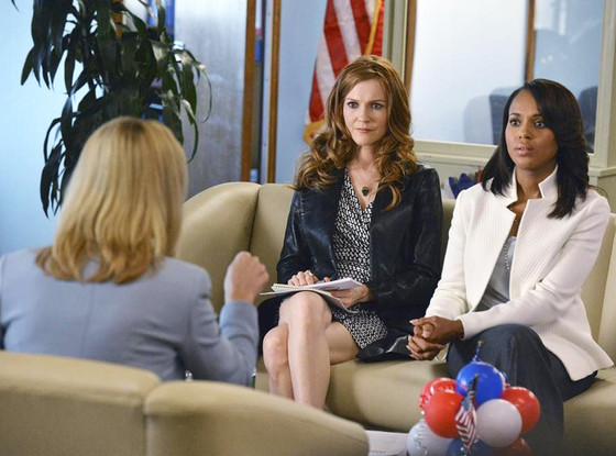 Scandal, Lisa Kudrow, Darby Stanchfield, Kerry Washington