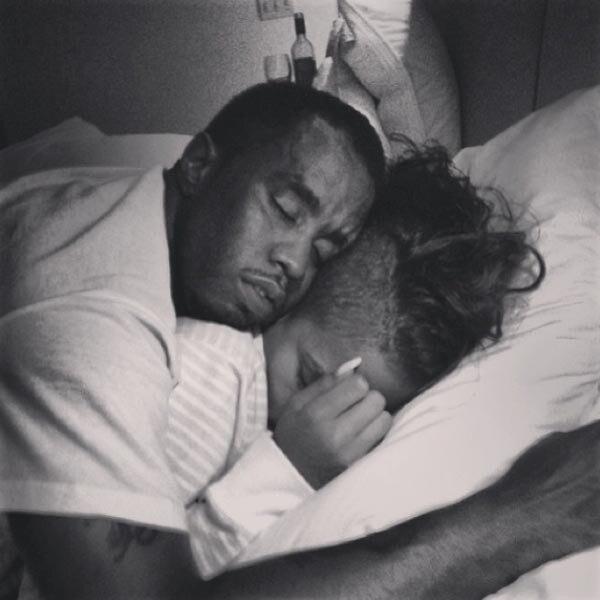 Sean Diddy Combs, sleeping