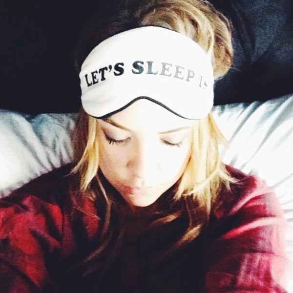 Ashley Benson, sleeping