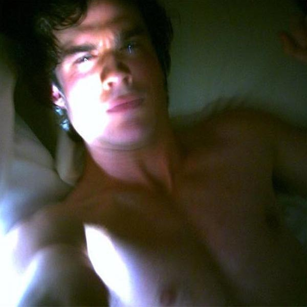 Ian Somerhalder, sleeping