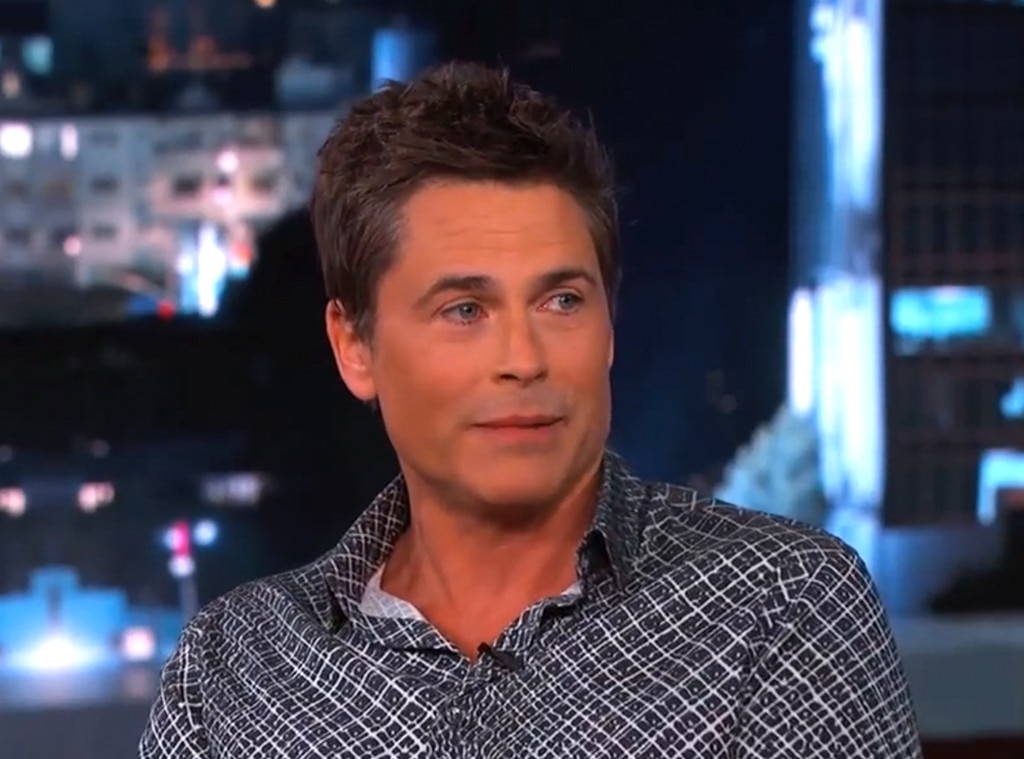 Rob Lowe, Jimmy Kimmel