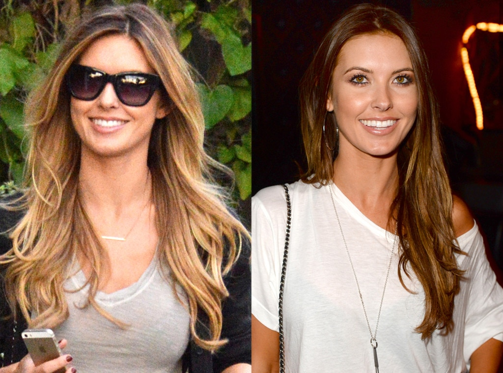 Audrina Patridge, Blonde, Brunette