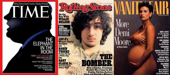 Chris Christie, Dzhokhar Tsarnaev, Rolling Stone, Demi Moore, Vanity Fair, Time