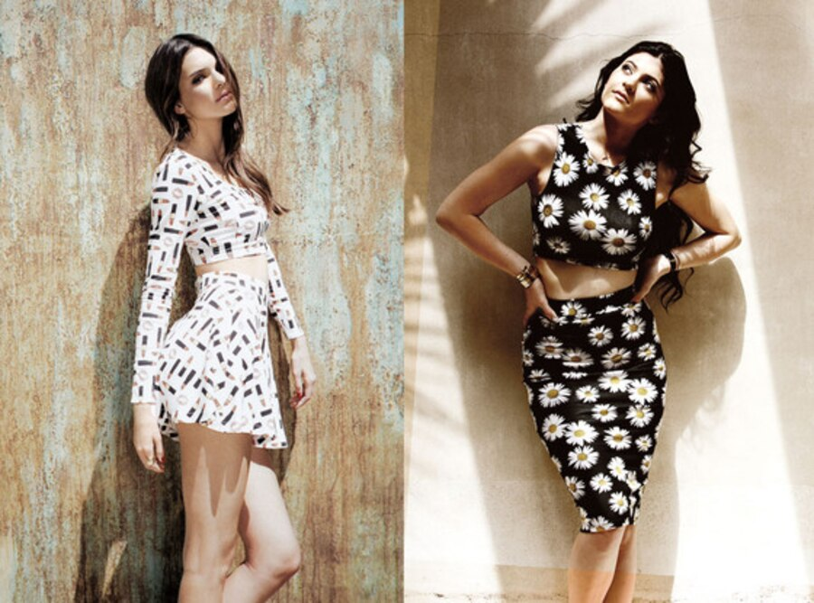 Kendall Jenner, Kylie Jenner, PacSun Holiday Collection