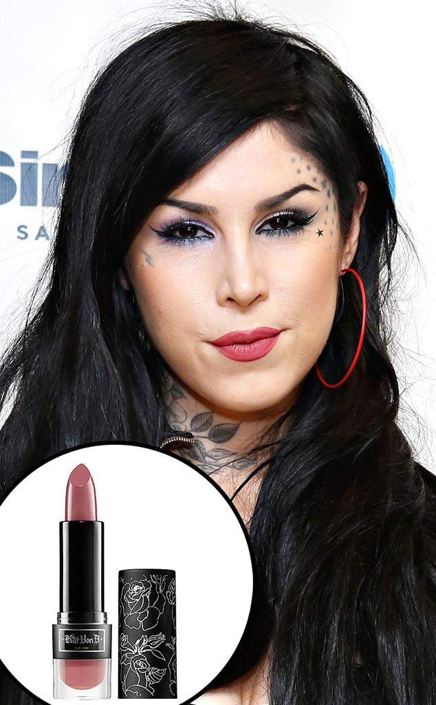 kat von d 39 s celebutard lipstick pulled from sephora over offensive name e news canada. Black Bedroom Furniture Sets. Home Design Ideas