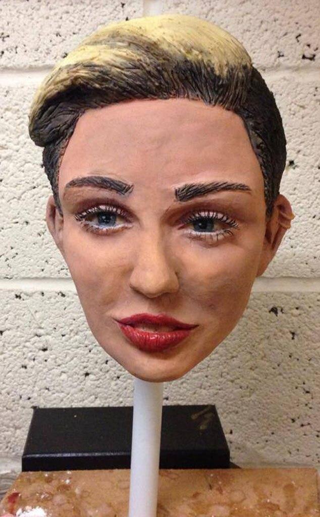 Johnny Depp, Miley Cyrus Cake