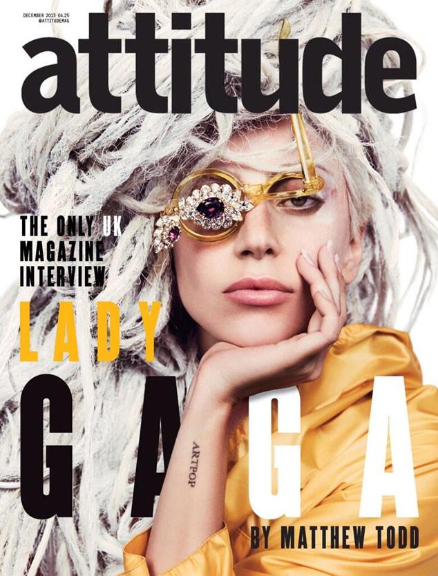 Lady Gaga, Attitude Magazine