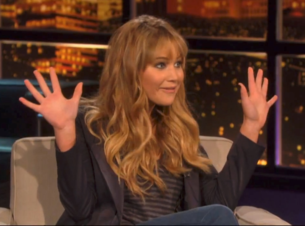 Chelsea Lately, Jennifer Lawrence