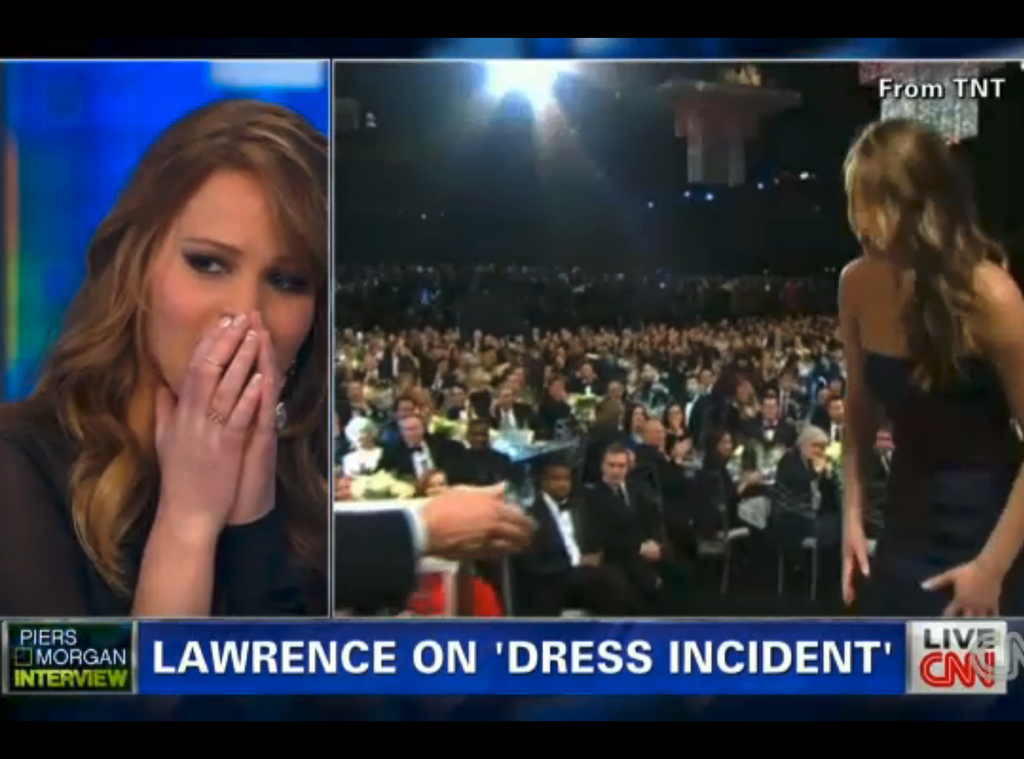 Jennifer Lawrence, Piers Morgan