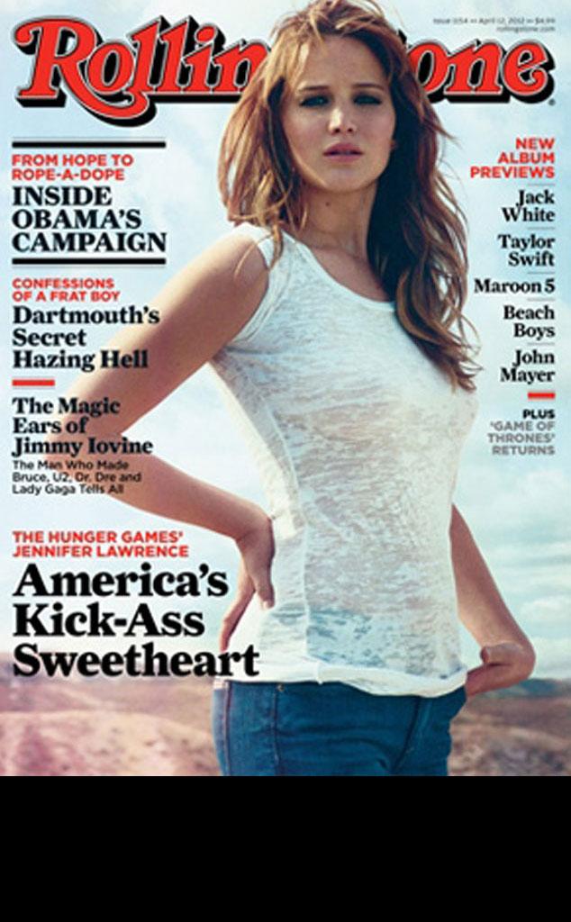 Rolling Stone, Jennifer Lawrence