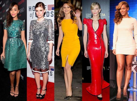 Ashley Madeke, Kate Mara, Jennifer Lawrence, Cate Blanchett, Beyonce