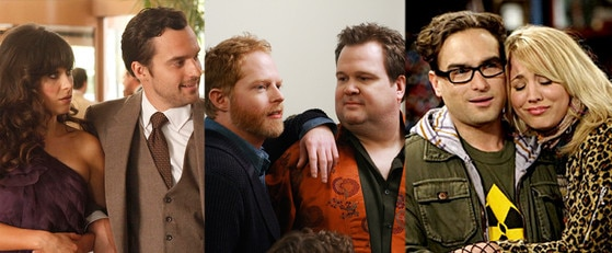 Jesse Tyler Ferguson, Eric Stonestreet, Jake Johnson, Zooey Deschanel, Johnny Galecki, Kaley Cuoco