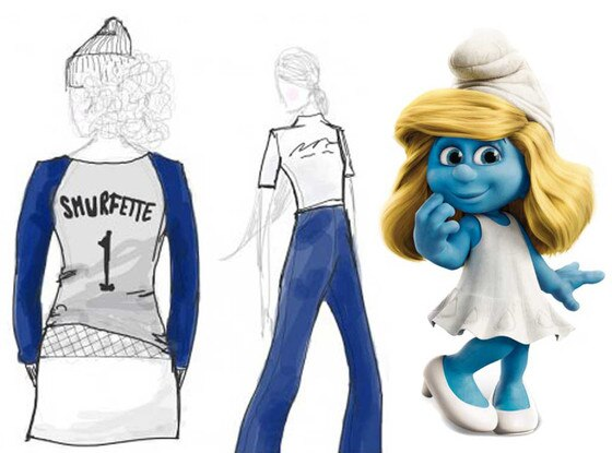 Smurfette Fashion Line