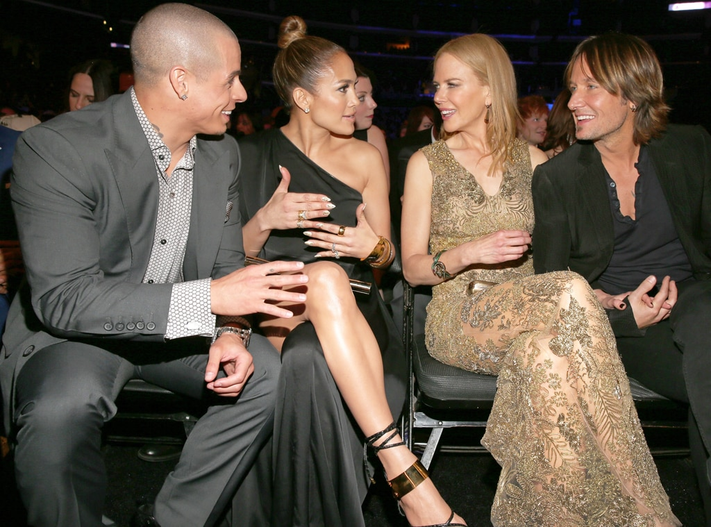 Casper Smart, Jennifer Lopez, Nicole Kidman, Keith Urban, Grammys