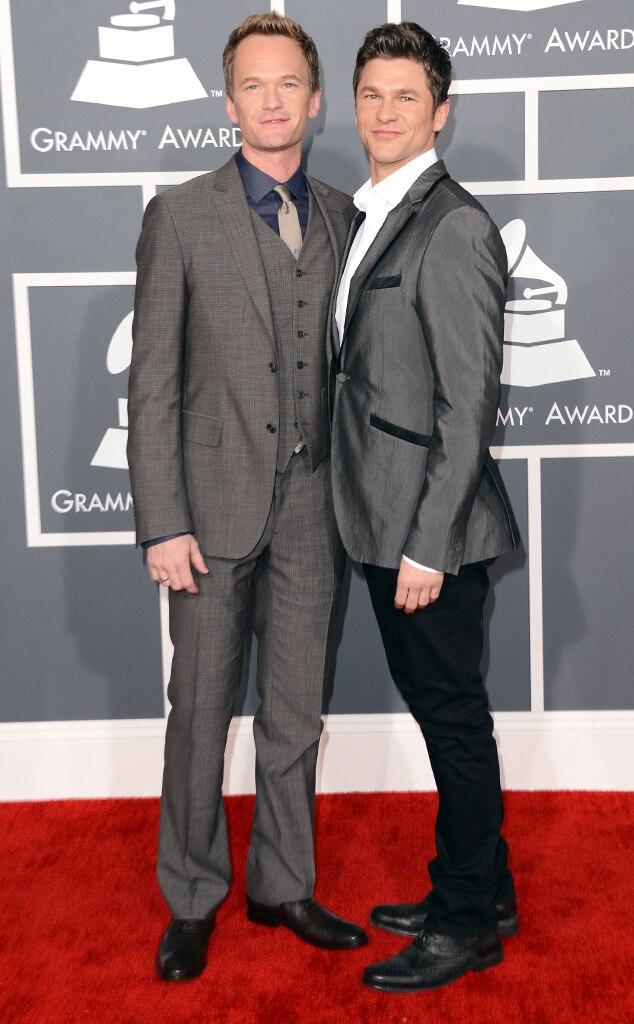Neil Patrick Harris, David Burtka, Grammys