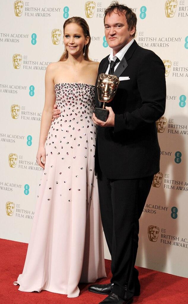 Jennifer Lawrence, Quentin Tarantino