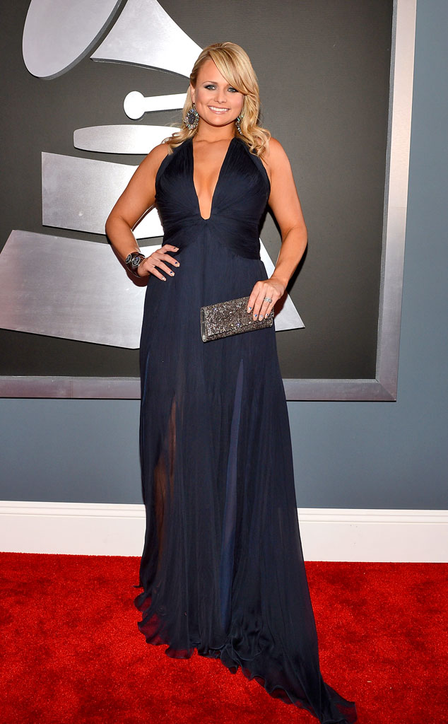 grammys glam from miranda lambert 39 s best looks e news. Black Bedroom Furniture Sets. Home Design Ideas