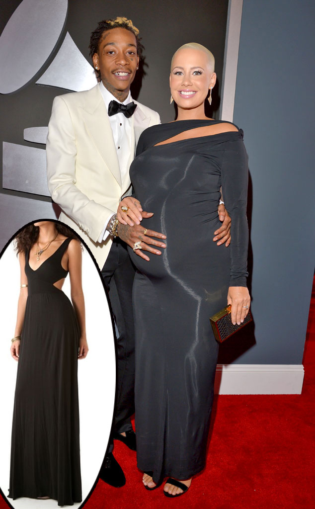 Wiz Khalifa, Amber Rose, Grammys Get-it-now