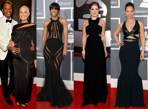 Amber Rose, Kelly Rowland, Kelly Osbourne, Alicia Keys