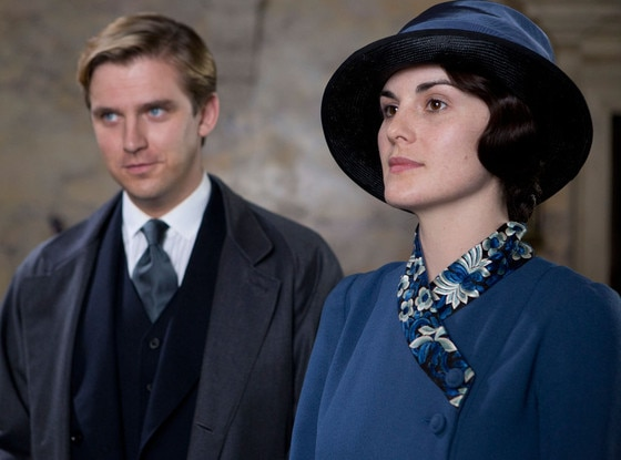 Dan Stevens, Michelle Dockery, Downton Abbey
