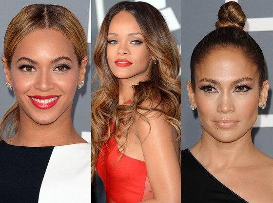 Rihanna, Jennifer Lopez, Beyonce, Grammys
