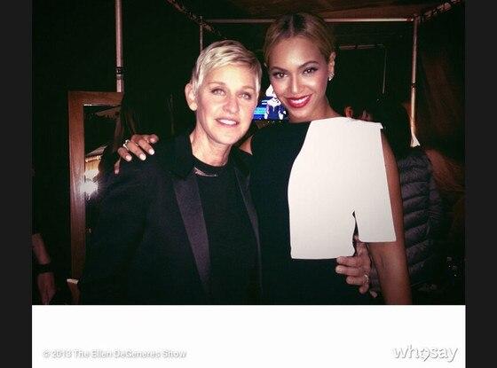 Ellen Degeneres, Beyonce, WhoSay