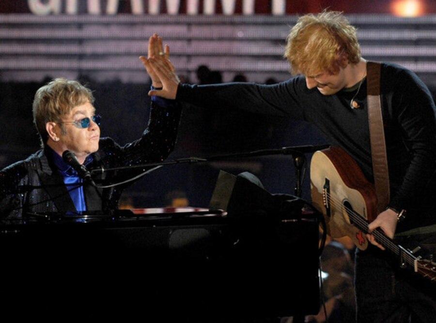 Elton John, Ed Sheeran, Grammys, Performance