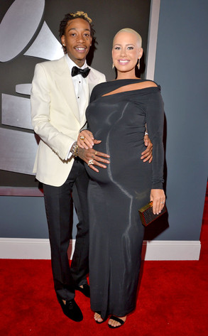 Wiz Khalifa, Amber Rose, Grammys