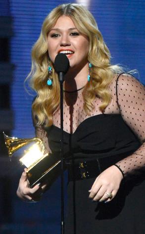 Kelly Clarkson, Grammy Winner