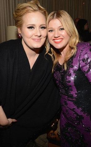 Adele, Kelly Clarkson