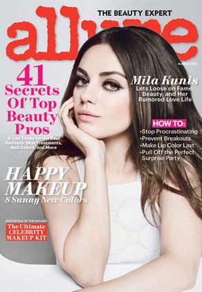 Mila Kunis, Allure Magazine