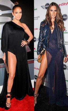 Jennifer Lopez, Alessandra Ambrosio